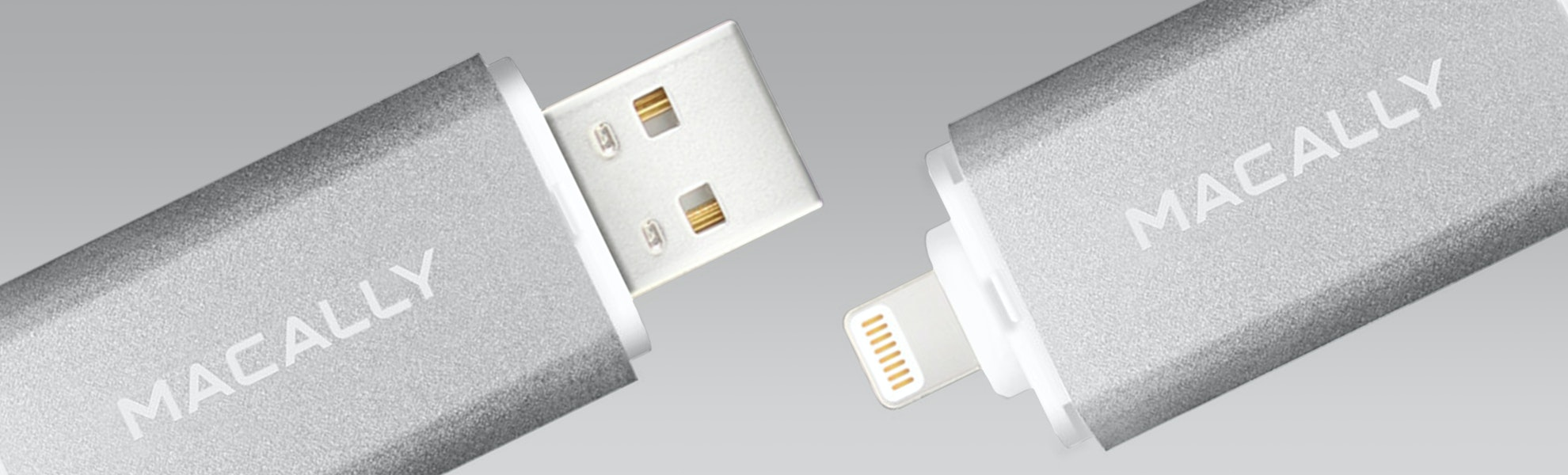 Macally 64GB Lightning/USB Flash Drive
