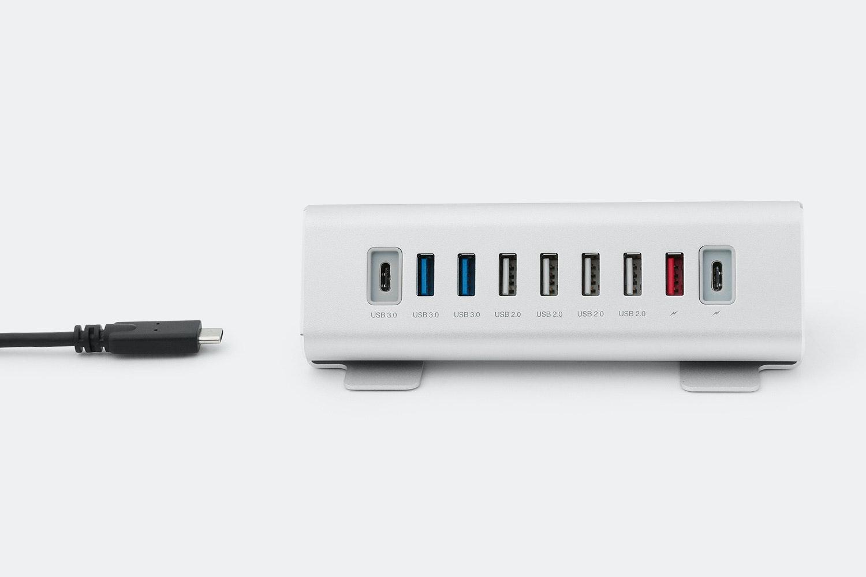 USB Type-C to nine-port Type-A