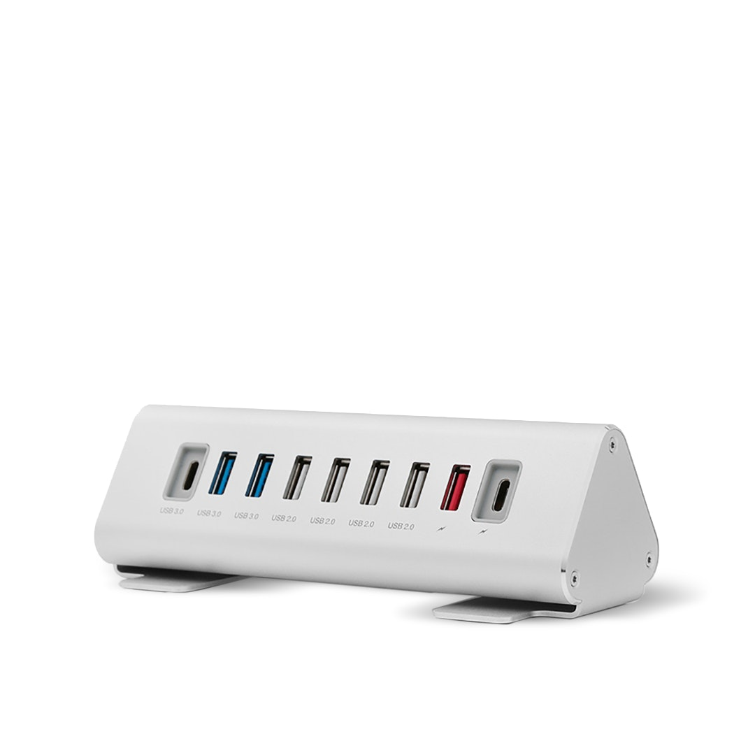 Macally 9-Port USB-A / USB-C Hub & Charger