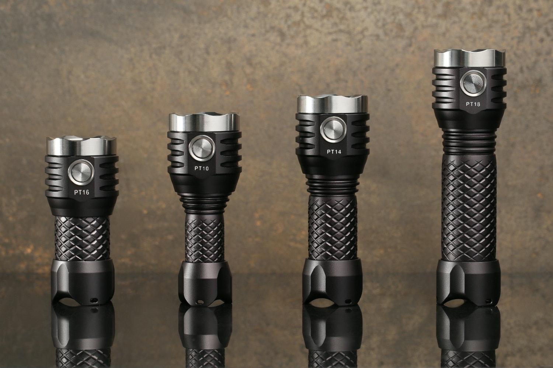 MecArmy PT Series Compact Flashlights