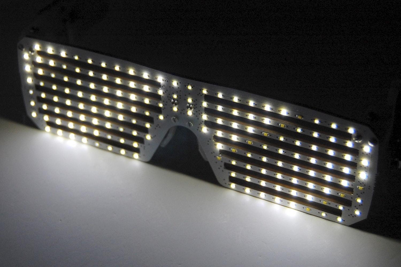 LED Matrix Shades – White