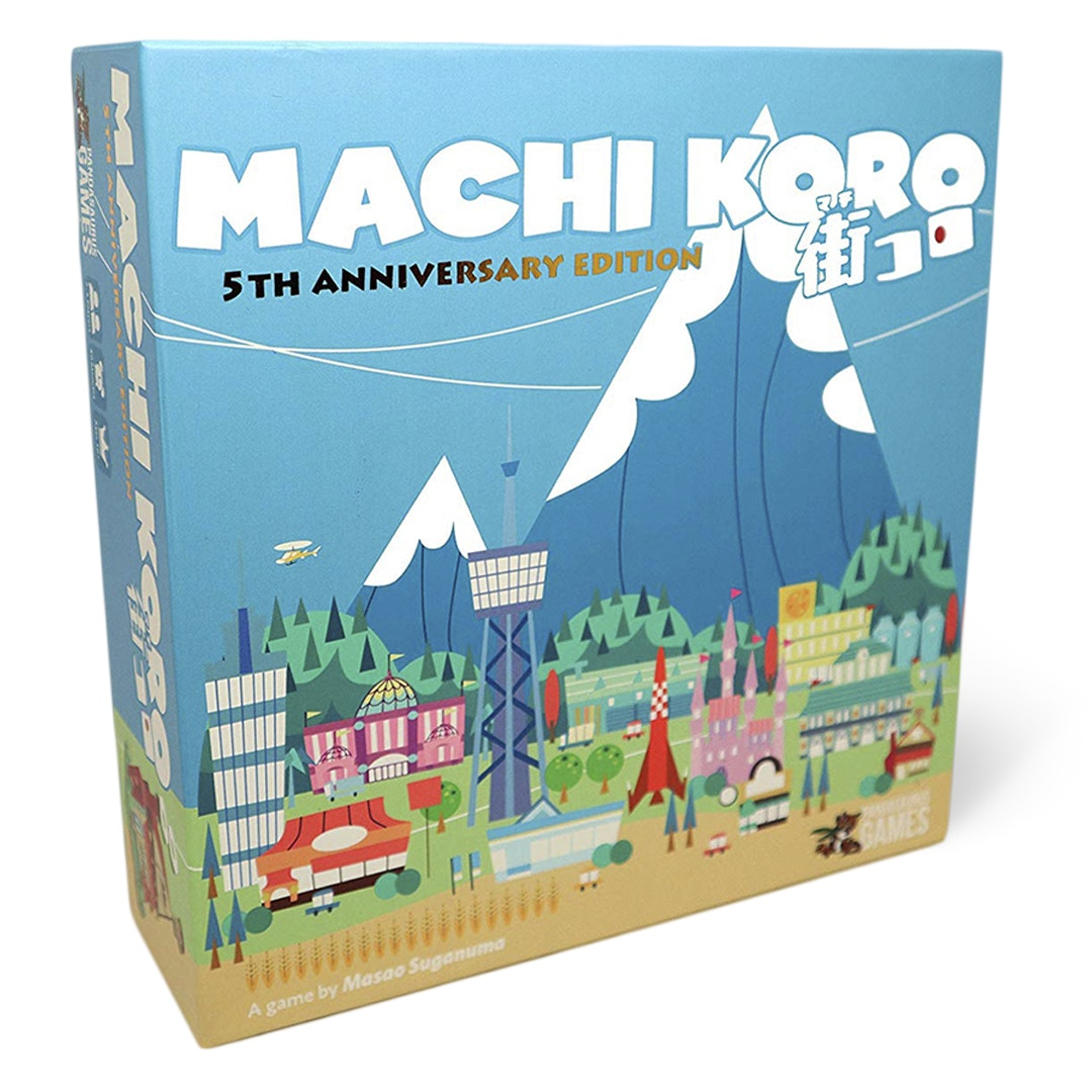 Machi Koro 5th-Anniversary Edition