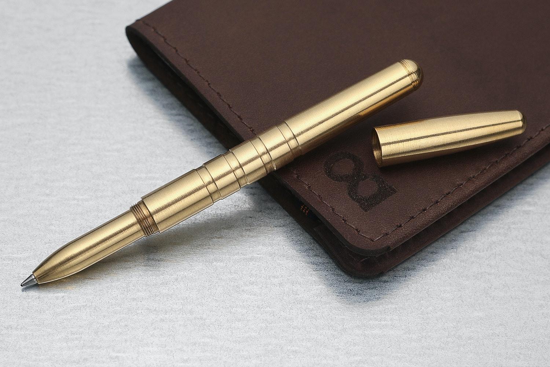 Machine Era Solid Brass Pen
