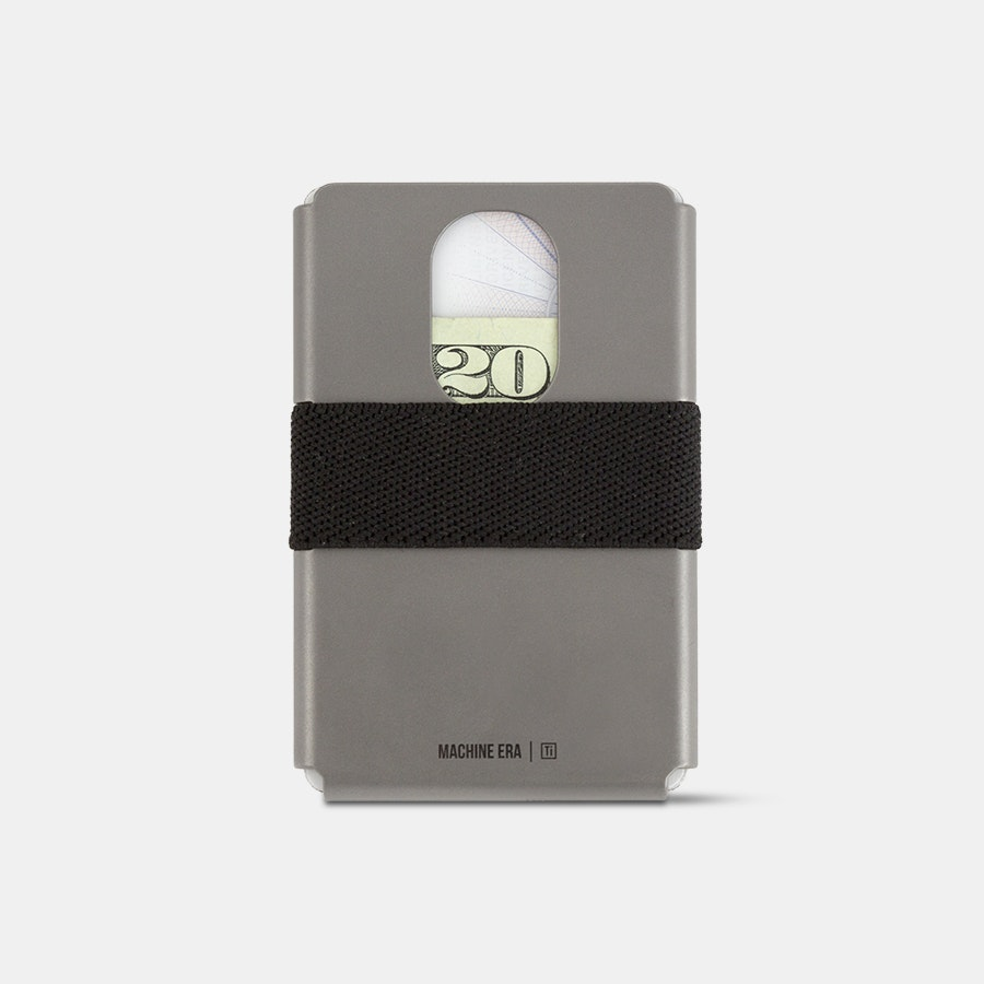 Machine Era Ti5 Slim Titanium Wallets