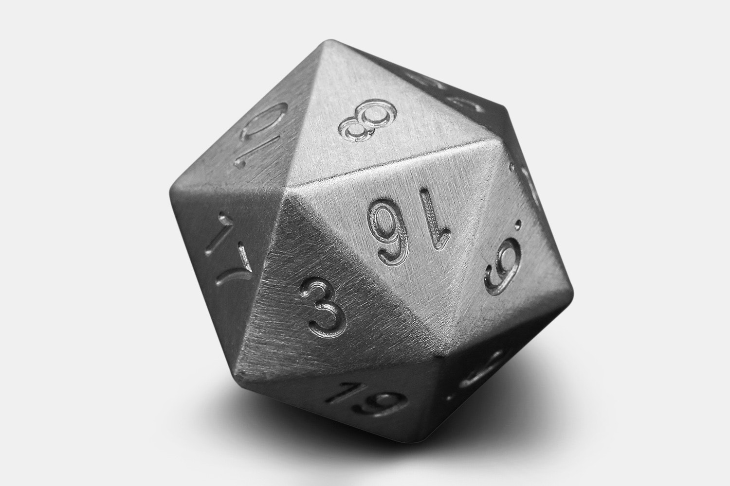 Machined Stainless Steel or Tungsten D20