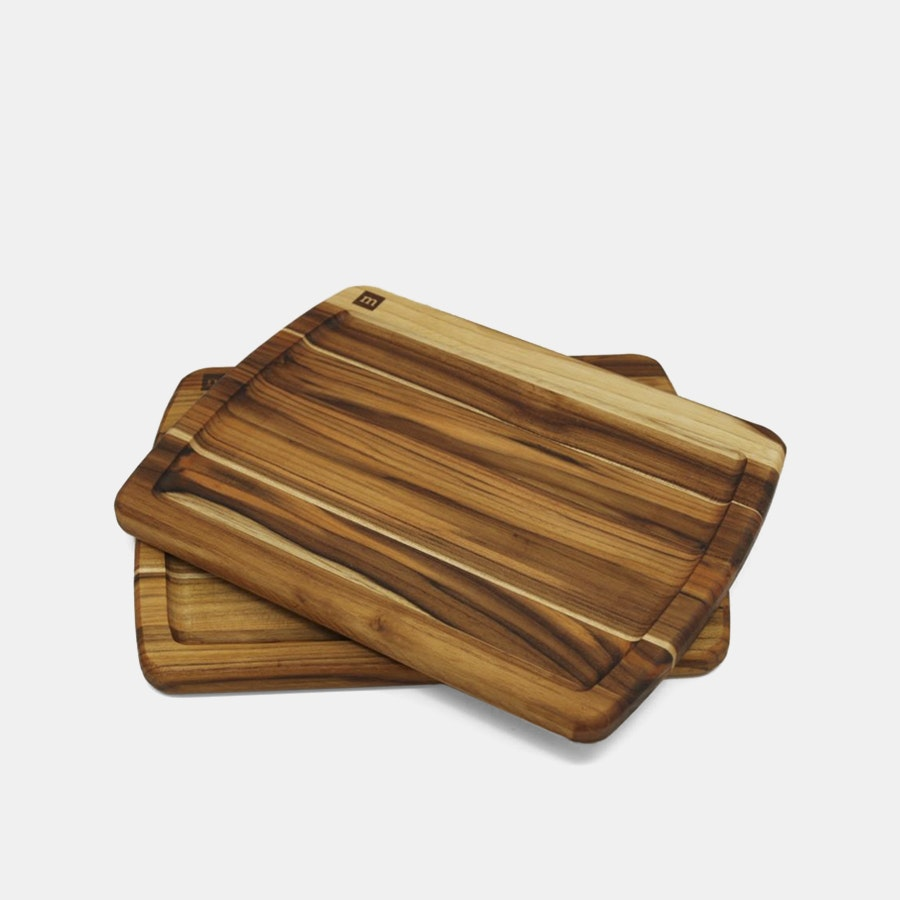 Madeira Teak Steak Board (Set of 2)