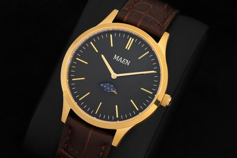 MAEN Classic Moonphase Quartz Watch
