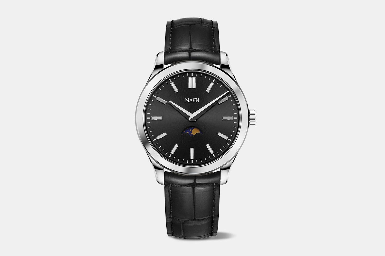 MAEN Manhattan Moonphase Quartz Watch