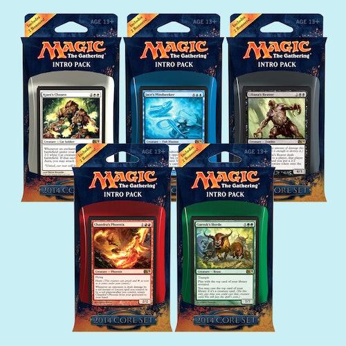 Magic 2014 Intro Deck (5-Pack) | Price & Reviews | Drop
