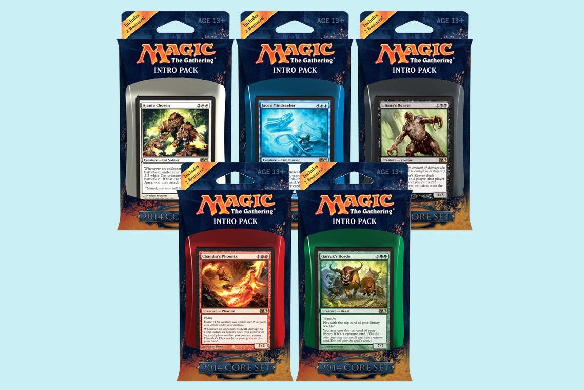 Magic 2014 Intro Deck (5-Pack)
