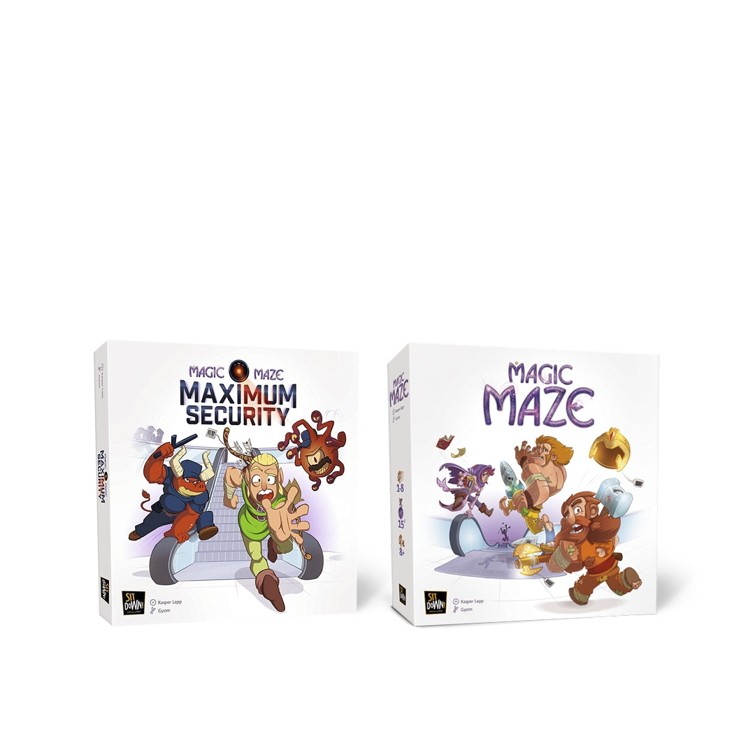 Magic Maze Board Game Bundle