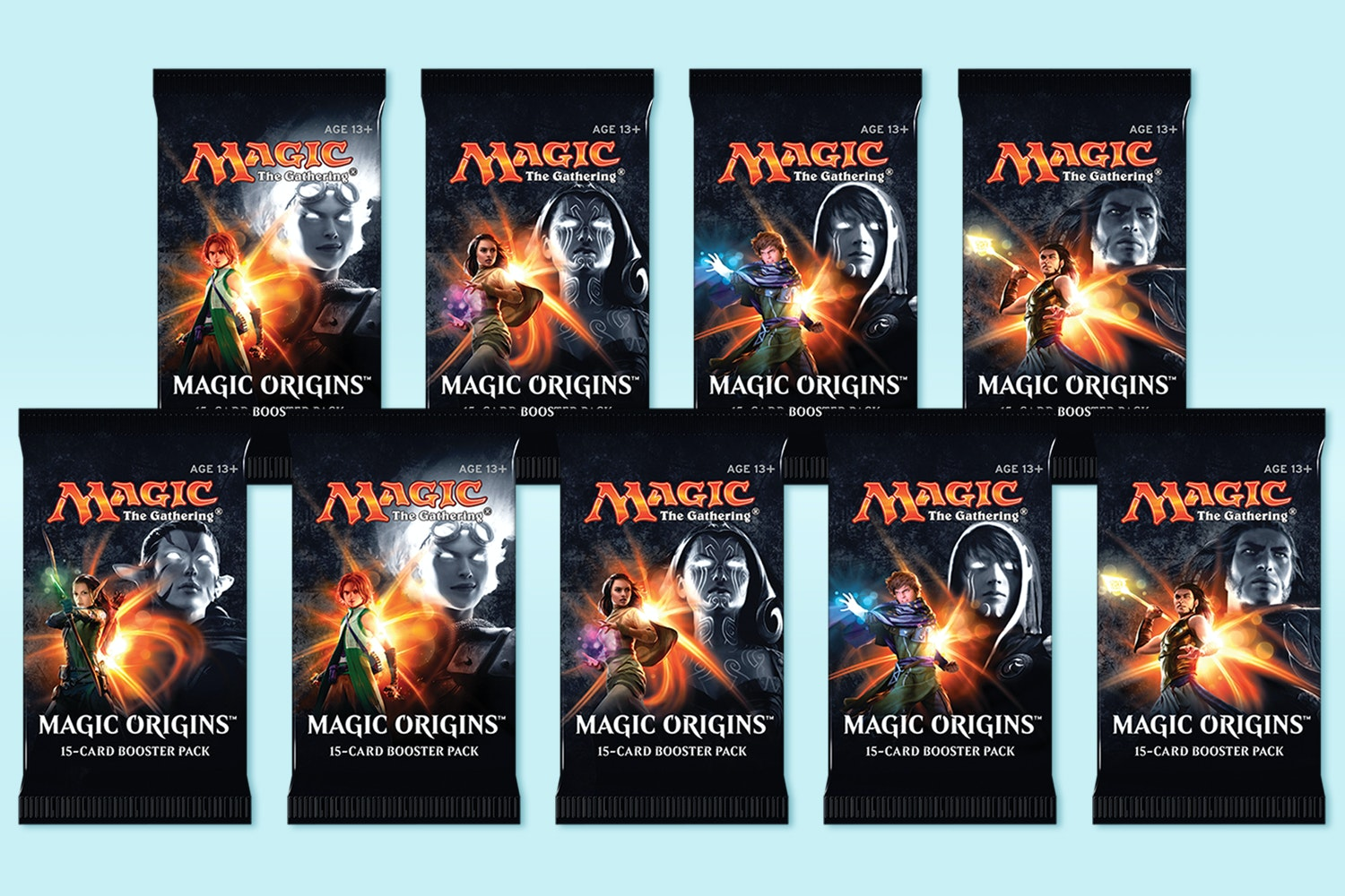 Magic Origins Booster (9-Pack)