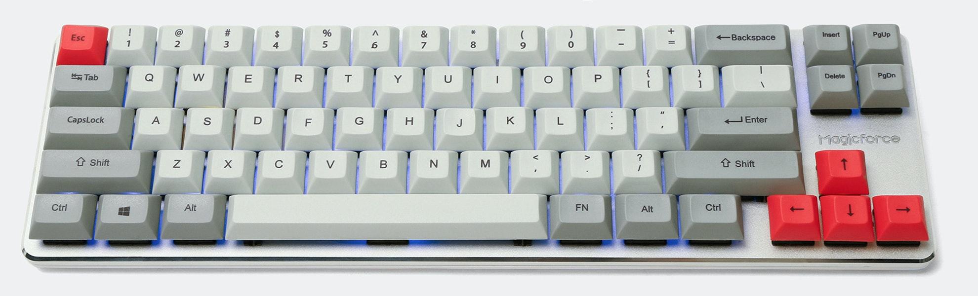 Magicforce 68-Key Mini Mechanical Keyboard