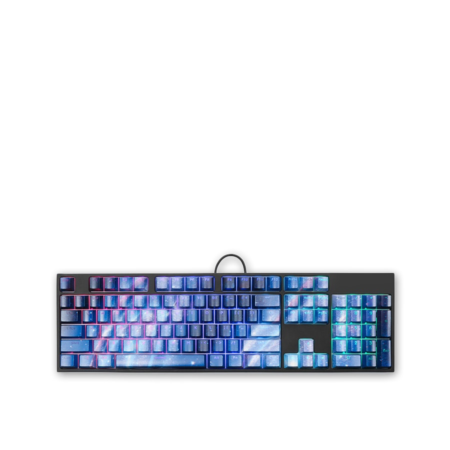 Major Stars ABS Backlit Shine-Through Keycap Set