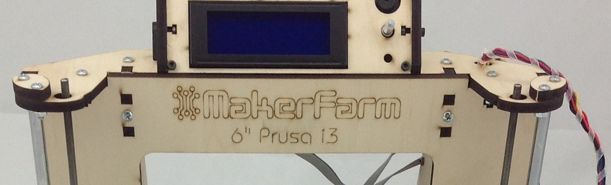 Makerfarm Prusa i3 3D Printer Kit 6 inch