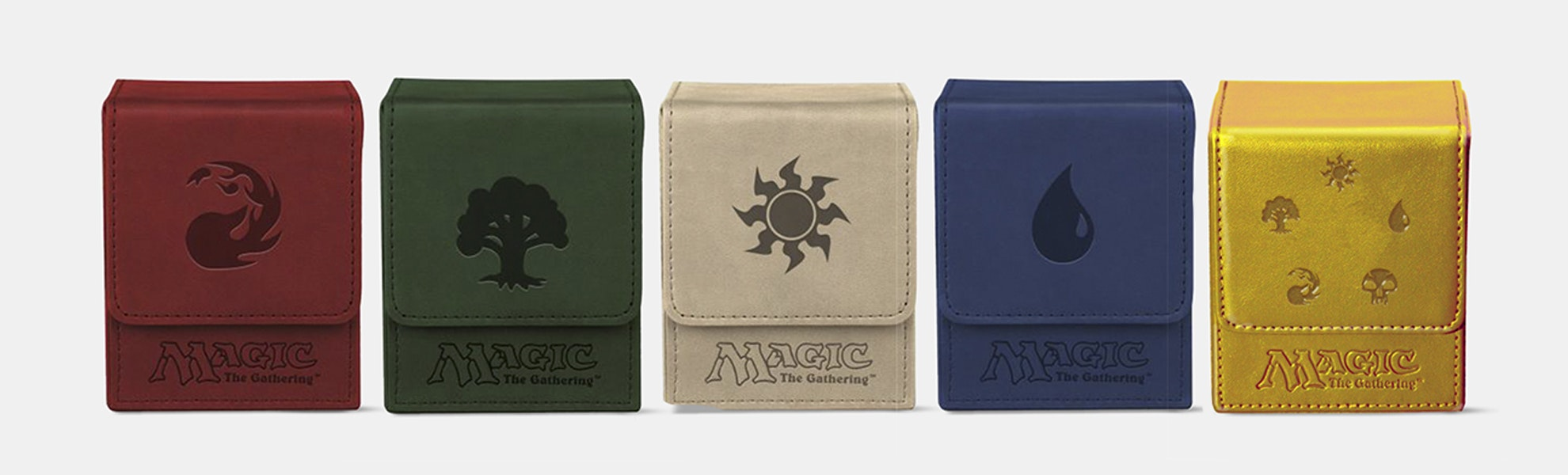 Ultra Pro Mana Symbol Flip Deck Box (3-Pack)