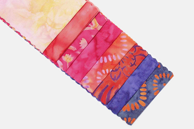 Mango Tango Batik Strips