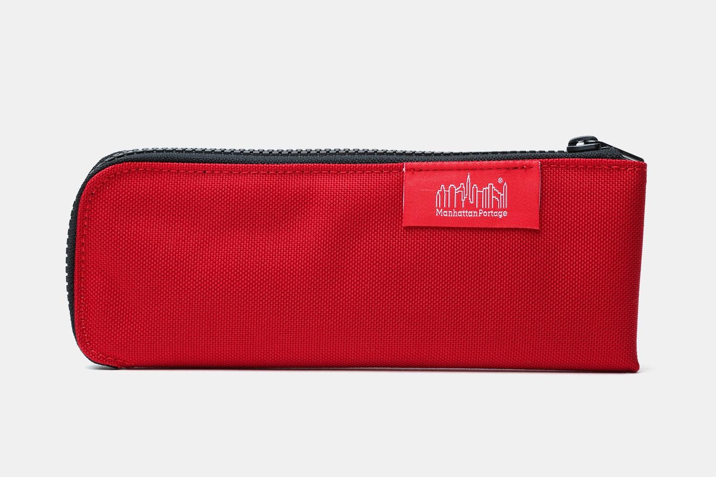Half-Zip V.2 Pen Case – Red