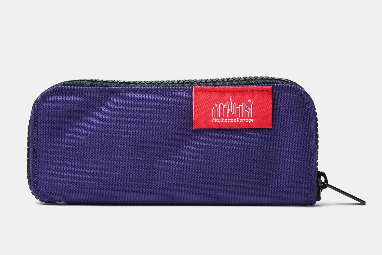 Clamshell Pen Case – Purple