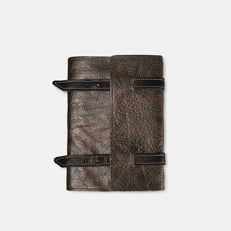 "Manufactus ""No Bag"" Refillable Leather Journal"