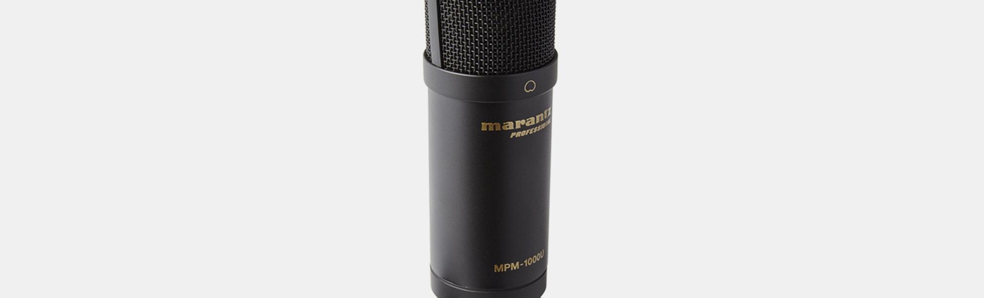 Marantz MPM-1000U & MPM-2000U Microphones