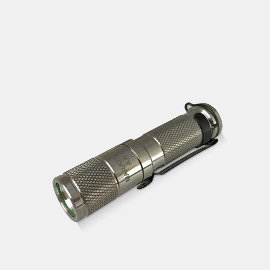 Maratac AA Titanium Nichia Flashlight REV1