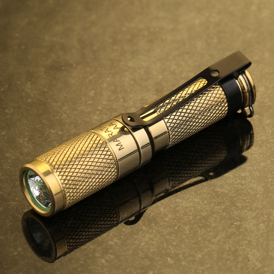 Maratac AAA Brass Flashlight