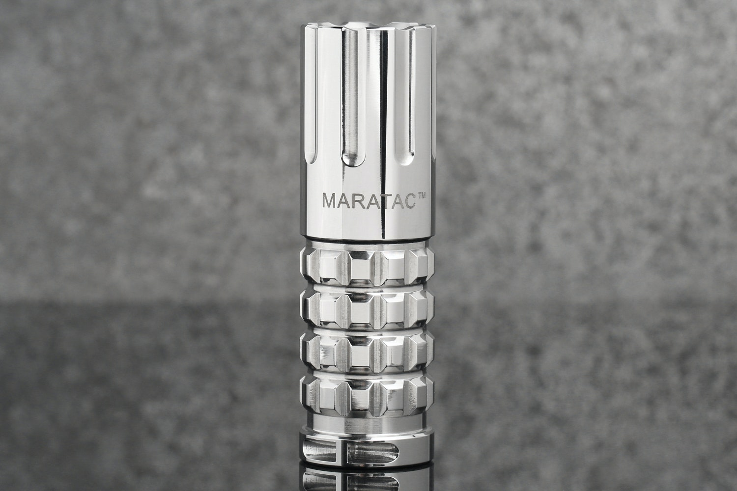 Maratac CR-123 Stainless Steel Flashlight