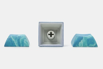 Marble DSA Spacebar + WASD + Arrows Set