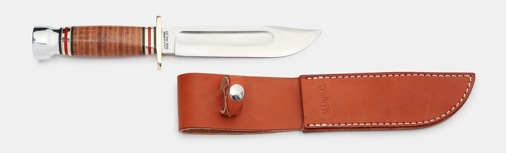 Marbles 120th-Anniversary Ideal Stack Fixed Blade