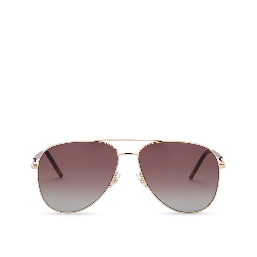 Marc Jacobs Aviator Polarized Sunglasses