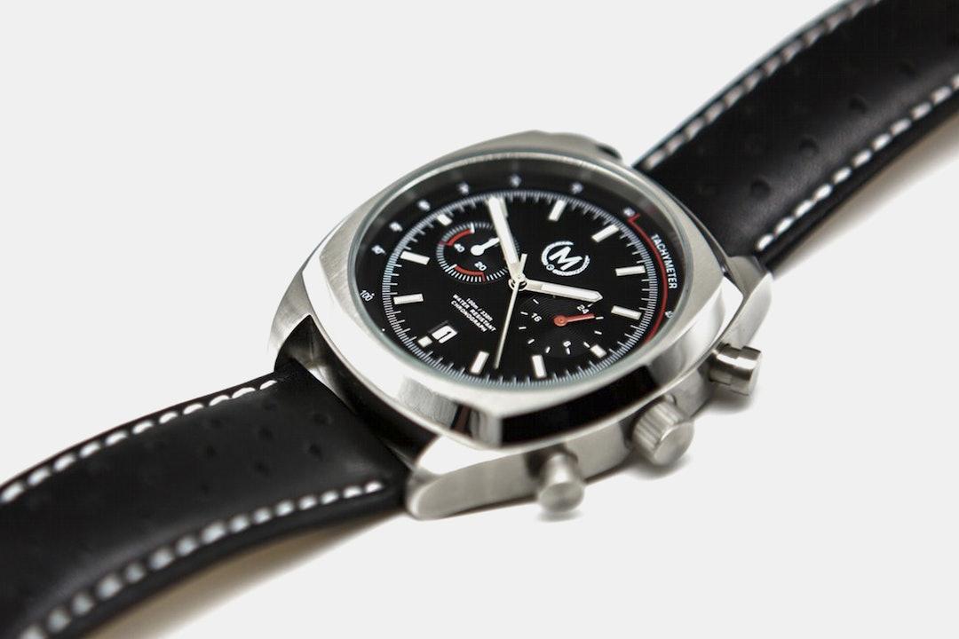 Marchand Classic Driver Quartz Chronograph