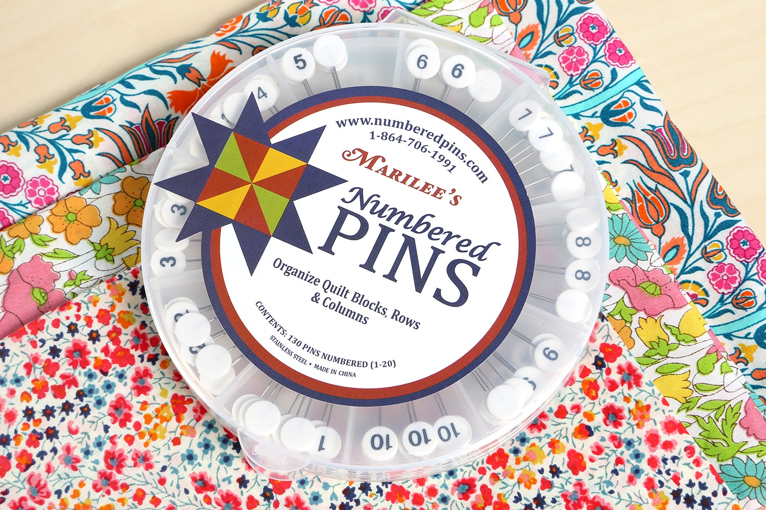Marilee's Numbered Pins