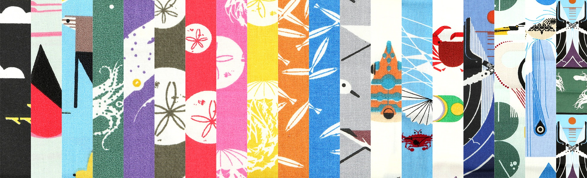Maritime by Charley Harper Fat Quarter Bundle