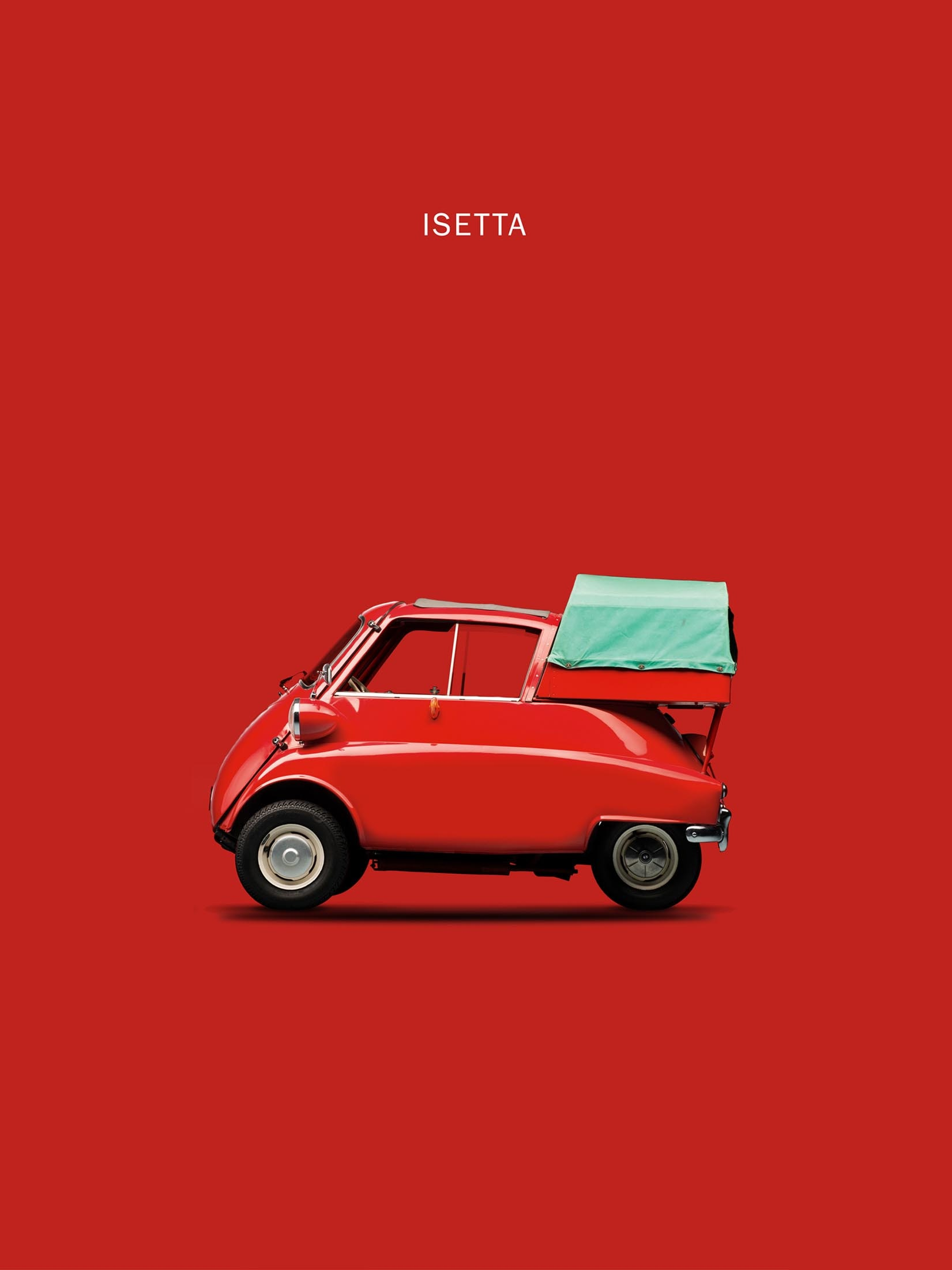 BMW Isetta 300 Red