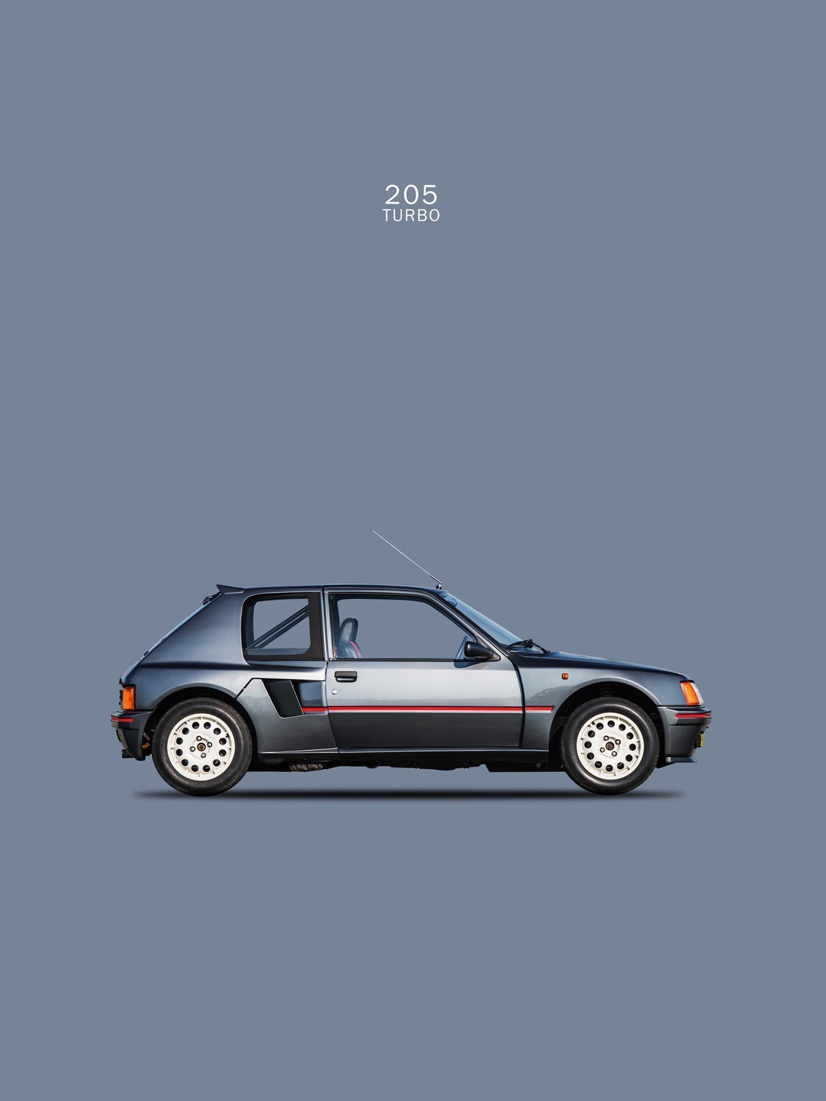Peugeot 205 Turbo 1984