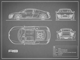 Audi R8 - Gray