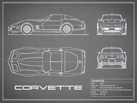 Corvette C3 - Gray