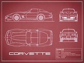 Corvette C3 - Red