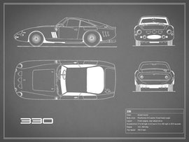 Ferrari 330 - Gray