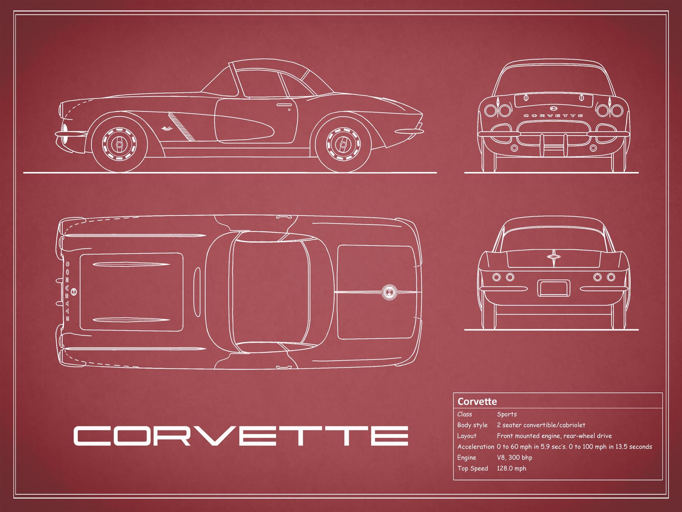Corvette - Red