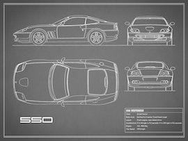 550 Maranello - Gray