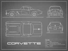 Corvette - Gray