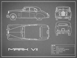 Jaguar MK VII - Gray