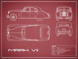 Jaguar MK VII - Red
