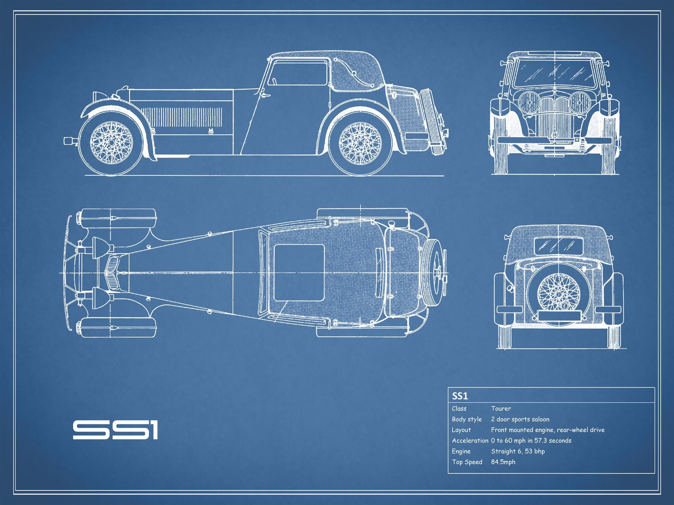 SS1 - Blue