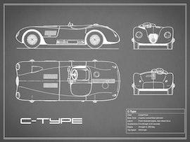 Jaguar C-type - Gray