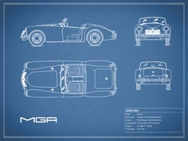 MGA MK1 - Blue