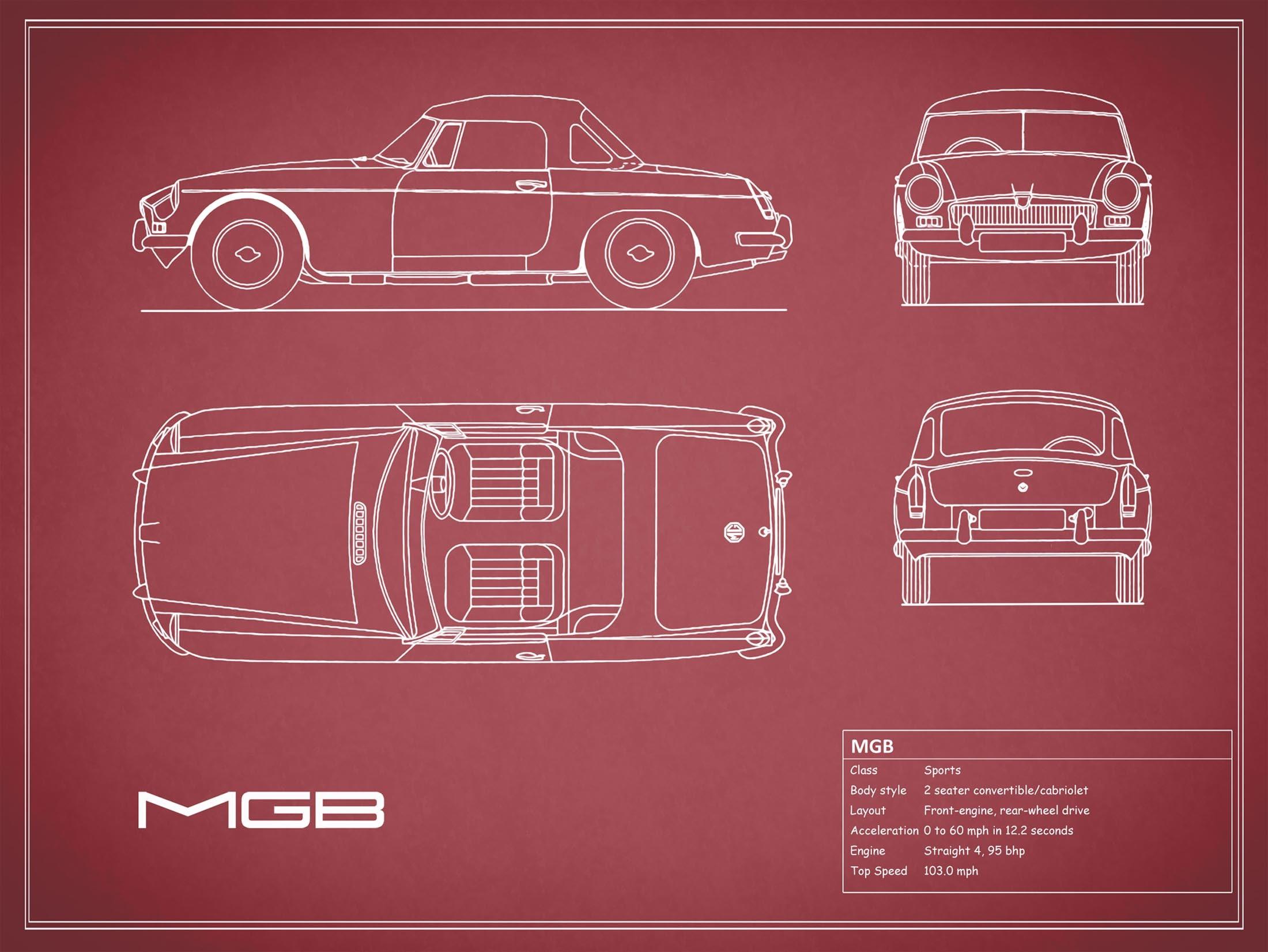 MGB - Red