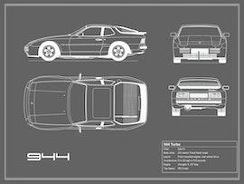 Porsche 944 - Gray